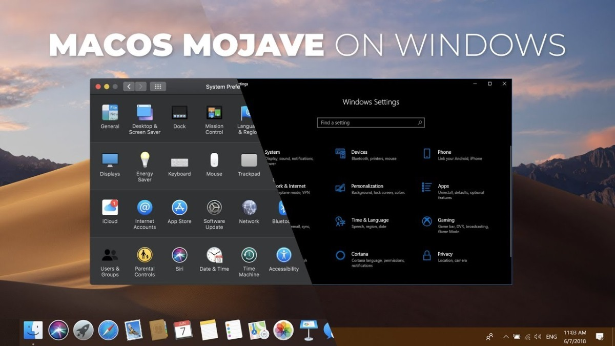 Get The Best MacOS Mojave Features In Windows 10 – Apple Summit