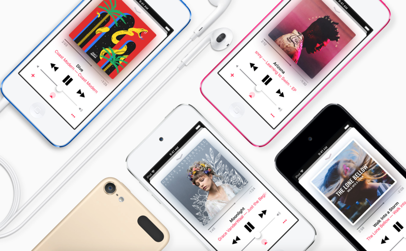 Report: Apple said to be working on a new iPodtouch