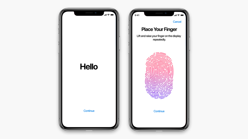 New Patent suggests Apple is working on embedding Touch ID in the display of future iPhone models