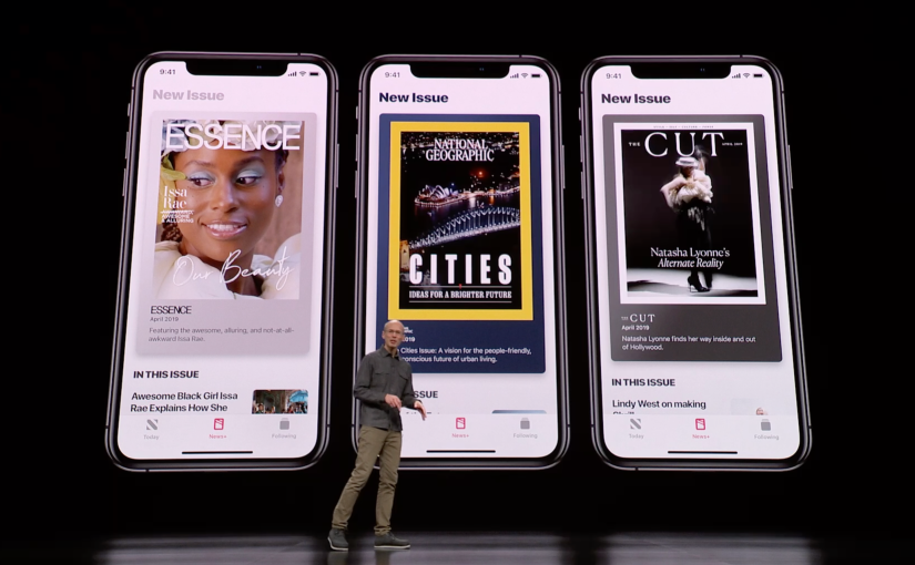 Apple announces Apple News Plus, brings over 300 Magazines to the Apple News App