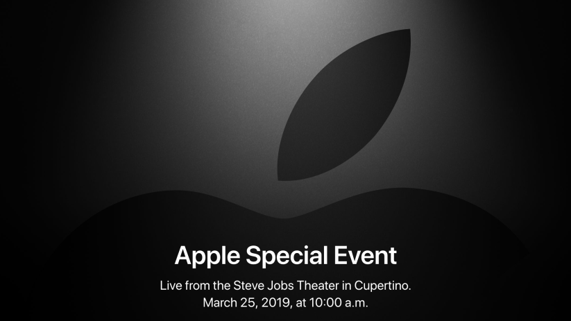 "Apple confirms their March 25 event, ""It's show time"""