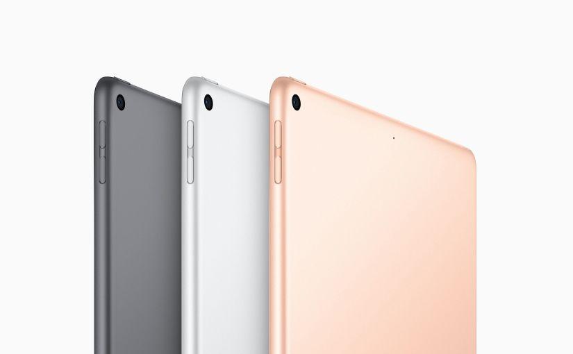 AirPods 2, iPad mini 5, and iPad Air 4 arrivestoday