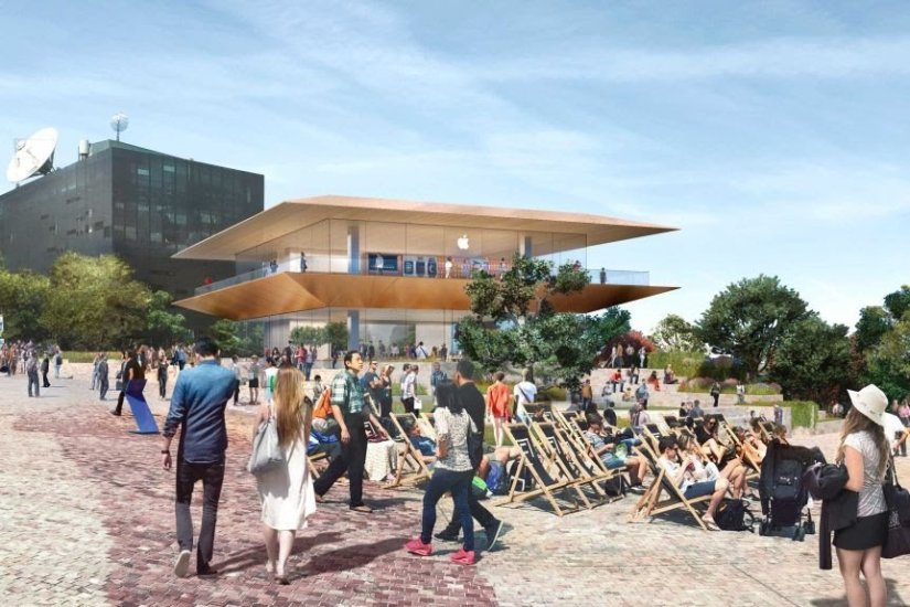 Apple's Proposal to Demolish the Yarra Building in Melbourne Federal Square is Revoked