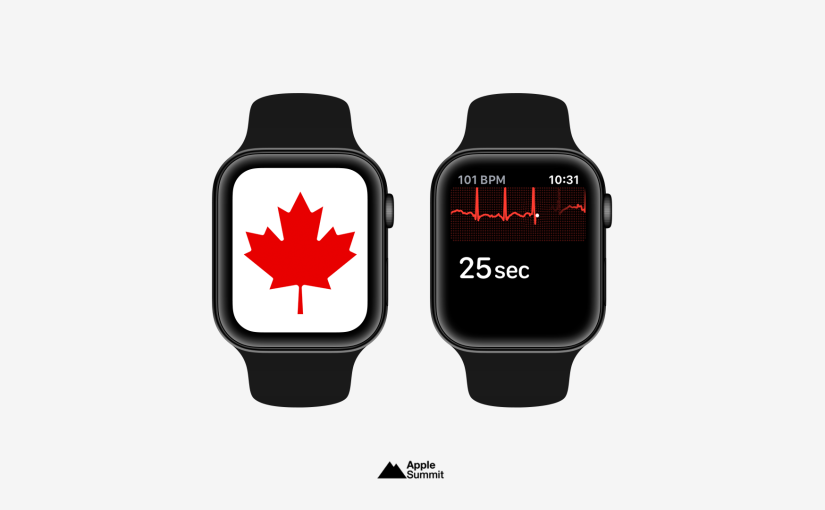 Health Canada Approves ECG and Irregular Rhythm Notifications for Apple Watch Series 4