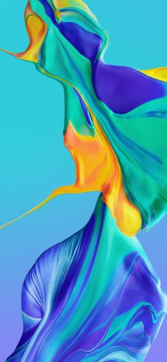 Huawei-P30-Pro-Stock-Wallpaper-Blue-X-Xs-Xr-Max