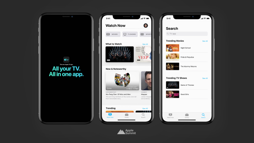 Apple has released iOS 12.3 and tvOS 12.3 with new TV App, macOS 10.14.5 and watchOS 5.2.1 also available