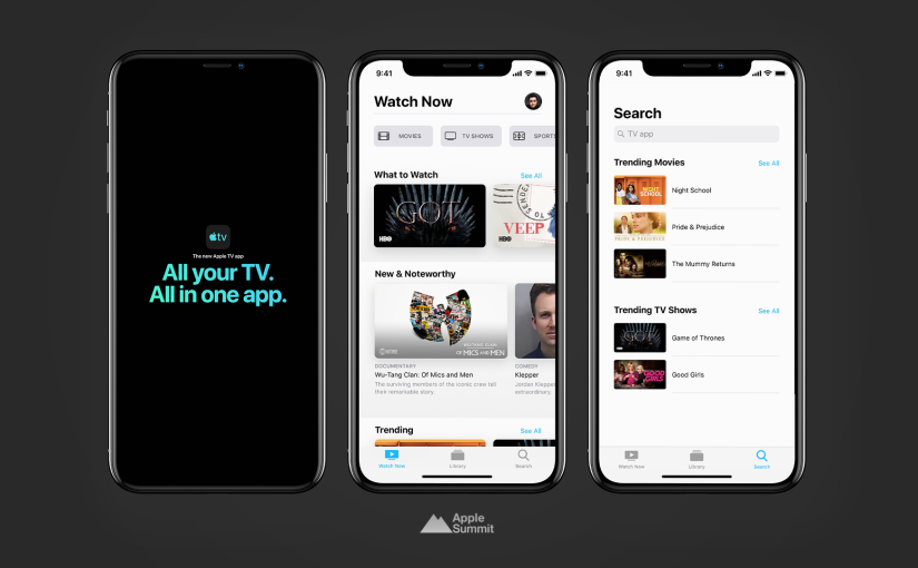 Apple has released iOS 12.3 and tvOS 12.3 with new TV App, macOS 10.14.5 and watchOS 5.2.1 alsoavailable