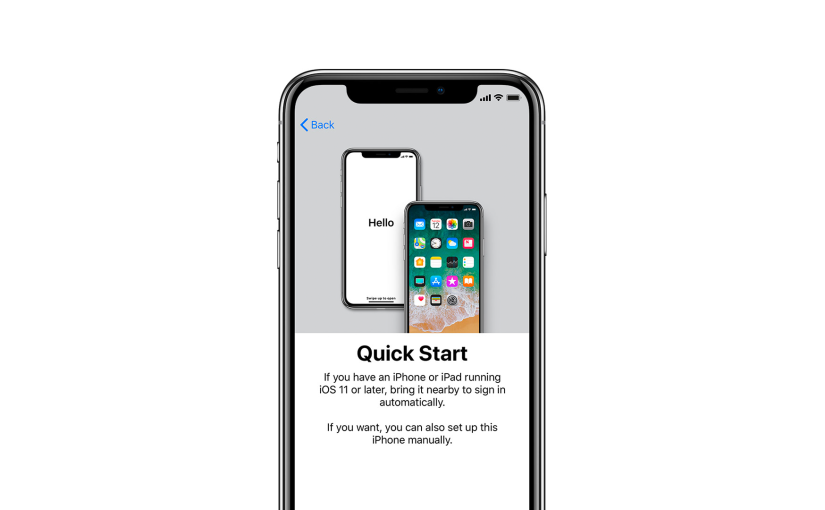 How to Use Quick Start on the iPhone