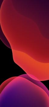 iOS-13-stock-wallpaper-Orange-Dark-XS