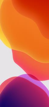 iOS-13-Stock-Wallpaper-Orange-Light