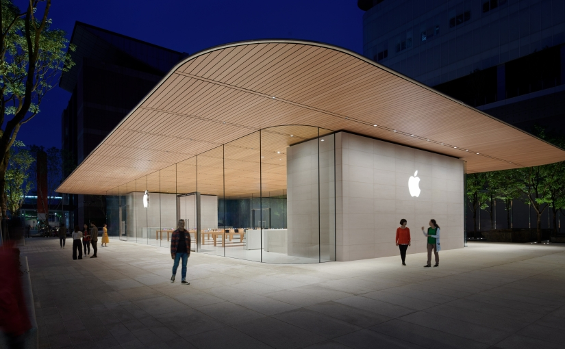 Apple releases photos of Xinyi A13 flagship ahead of Saturday's Grand Opening