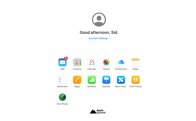 Apple rolls out redesigned iCloud web interface in beta