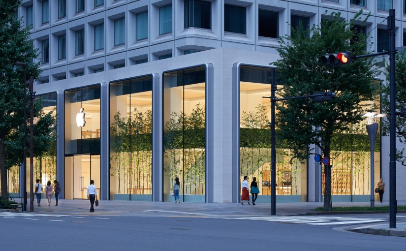 Apple shares new photos of its Marunouchi flagship retail store