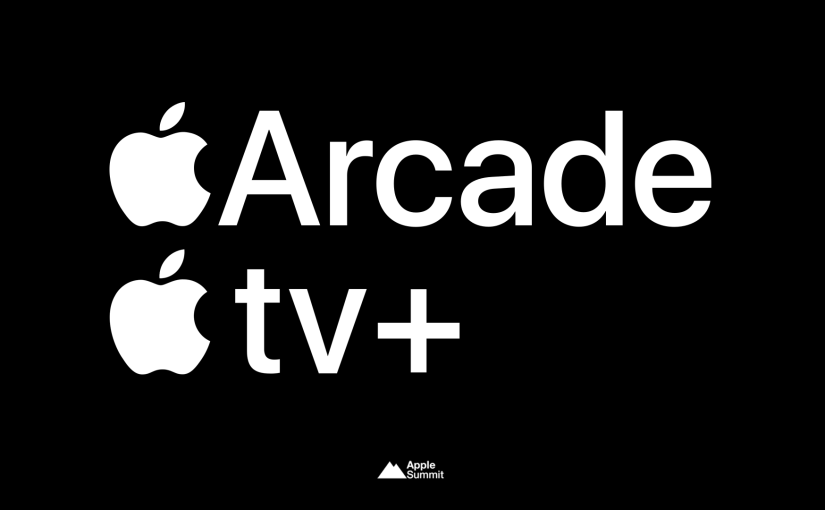 Apple Arcade launches September 19th, Apple TV Plus launches November 1st, both $4.99/month familysubscriptions