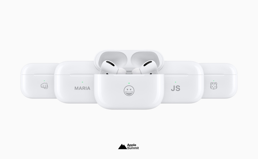 You can now engrave AirPods with select emojis and a new font style