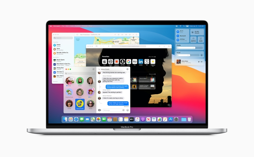 macOS Big Sur: gorgeous visual overhaul, new widgets, and new controlcenter